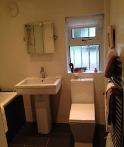 cosy room in lovely flat in beautiful village - Kilmacolm - Appartamento