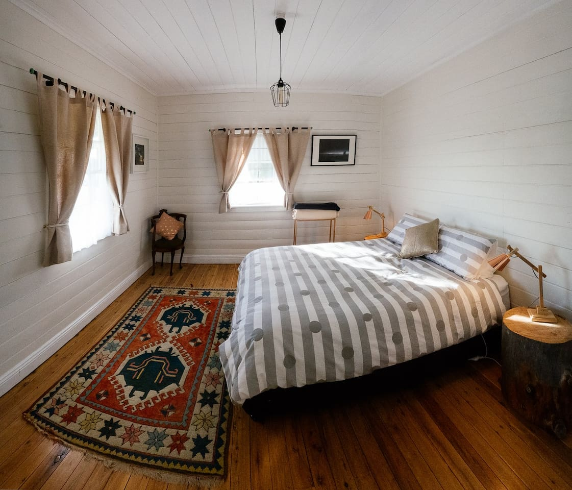 Master Bedroom with gorgeous morning light