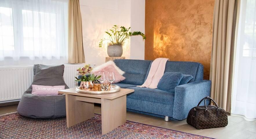 Appartement mit 2 Schlafzimmer und Balkon