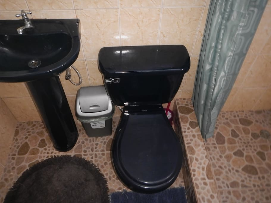 This room has its own high quality en-suite