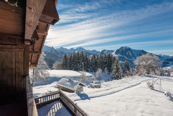 Chalet du Mi - Luxury apartment, spectacular view!