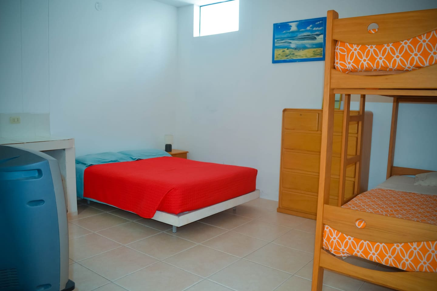 Cute Room with private Room 4 pax