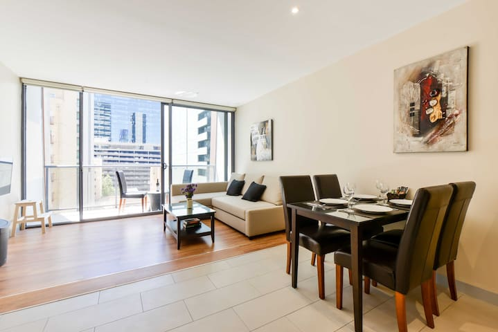 Art Inspired City Central APT - Melbourne - Daire