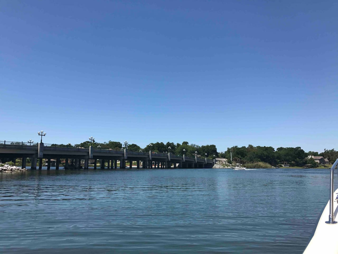 Bayou Cottage Retreat is located one block from the boat launch and marina. Experience the boats coming in from a long day of fishing while taking advantage of the most beautiful views Bayou Texar has to offer!