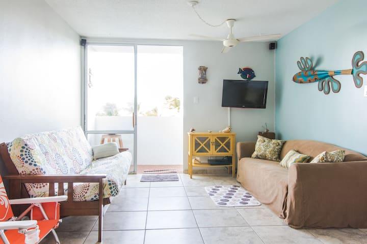 Front beach apartment at Isleta Marina, Fajardo