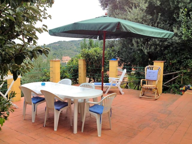 House with garden sea view - Monte Argentario - บ้าน