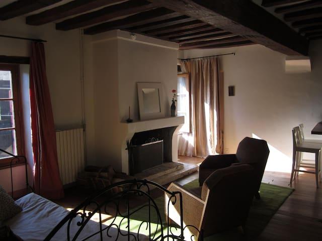 GITE DANS ANCIENNE FERME ROYALE - Bailly - Apartament