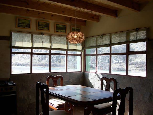 La Ribera, cabaña de montaña - El Chalten - Cabaña en la naturaleza