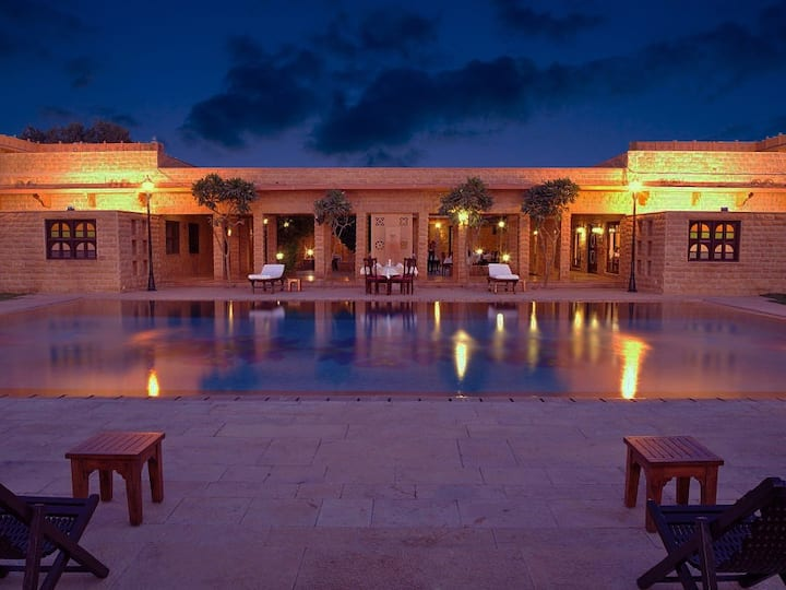 Luxury in Desert