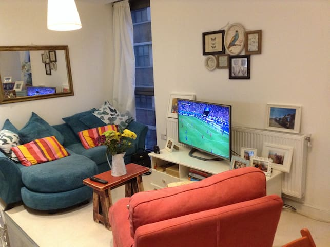 Brand new 1 bed flat in central London on canal - Londres - Apartamento
