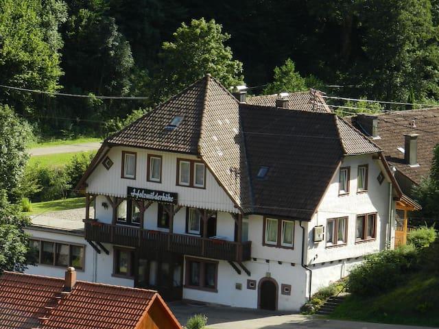 Gruppenhaus Schwarzwald 35-52 Pers. - Bad Rippoldsau-Schapbach - Haus