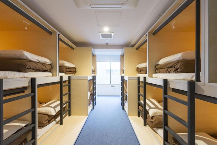 【8 minutes on foot from Kanda station】Female Dormitory Room・Free Wi-Fi