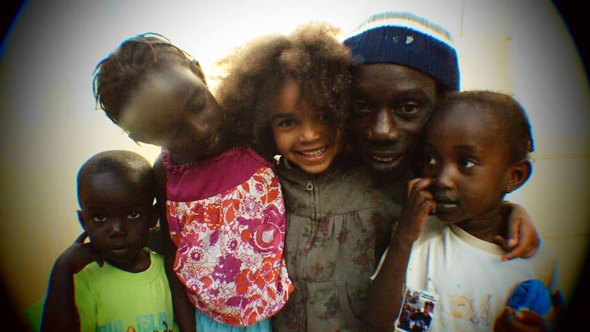 La famille Samb - Dakar - Hus