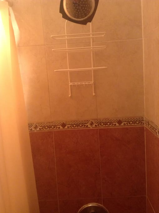 Shower with hot water always available