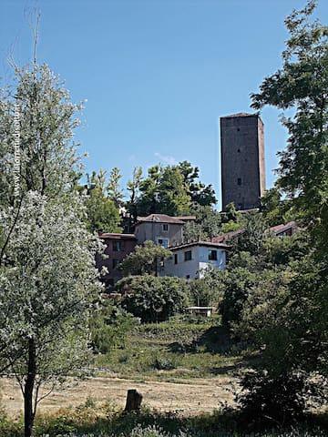 BBLa torretta di sotto in esclusiva - Santa Maria della Versa - Rumah