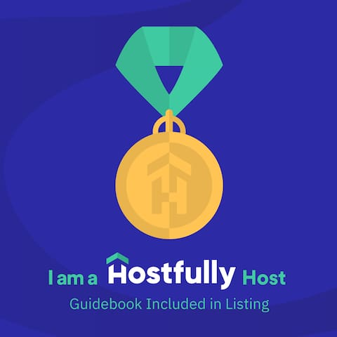 """We take being good hosts seriously, and we are proud """"Hostfully Hosts."""" This means when you stay with us, you get a Hostfully guidebook link emailed to you. The guidebook contains all details about our home, and our favorite recommendations."""