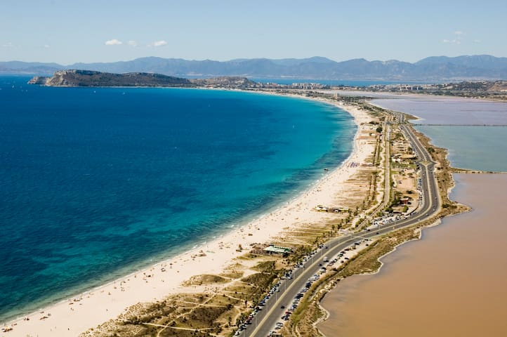 Between Town and Beach