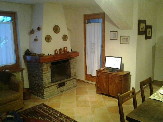 Beautiful apartment on two floors - Sauze