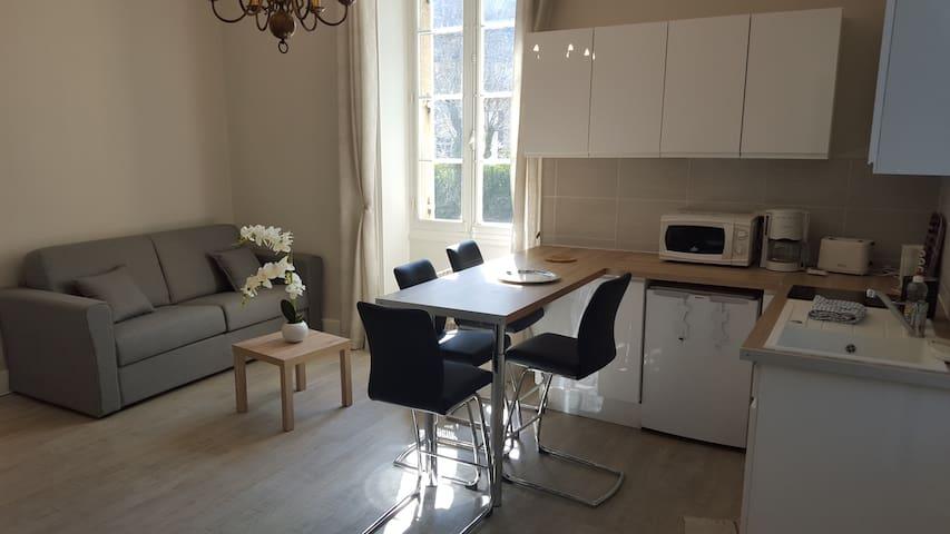 Sarlat, centre-ville, appartement 2 pièces