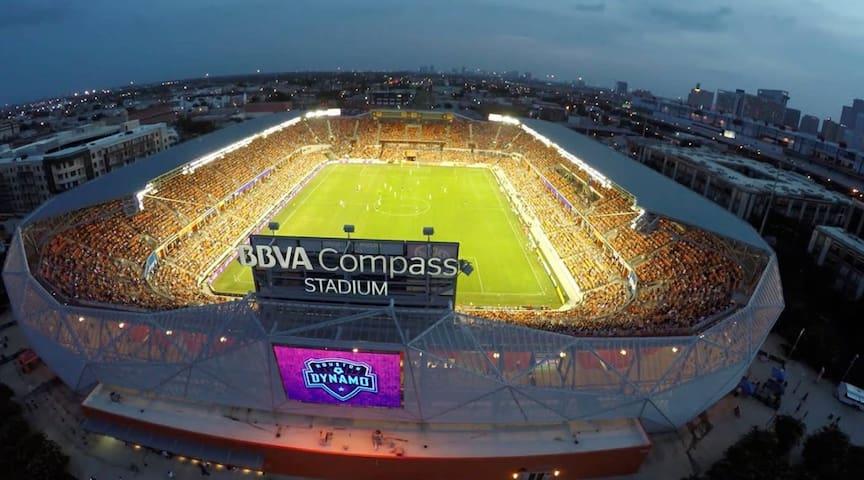 Dynamo Stadium for our local Dynamo soccer team.