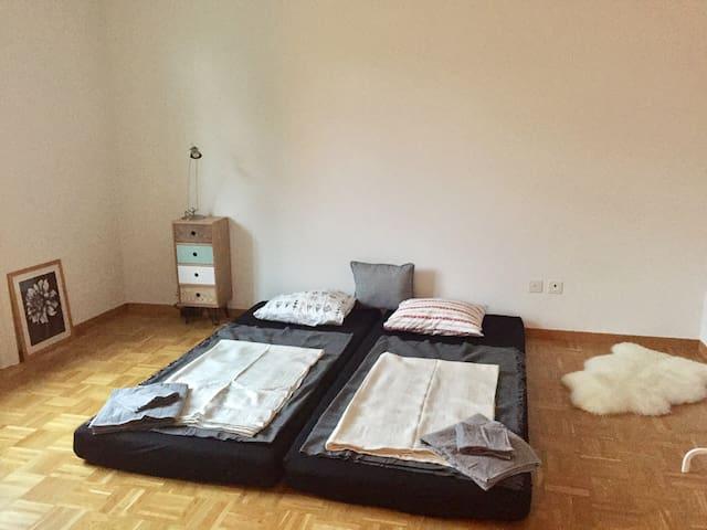 schönes zimmer in jugendstilwohnung - Sankt Gallen - Wohnung