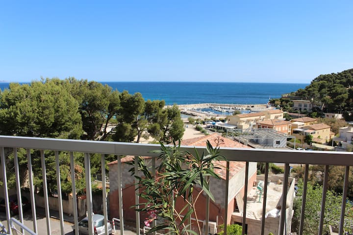 VUE IMPRENABLE SUR LA MER - Carry-le-Rouet - Appartement