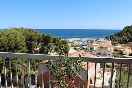 VUE IMPRENABLE SUR LA MER - Carry-le-Rouet - Apartmen