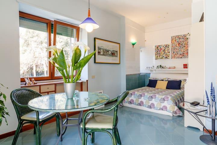Artist's Room (The sea inside a room) - Pozzuoli - Huis