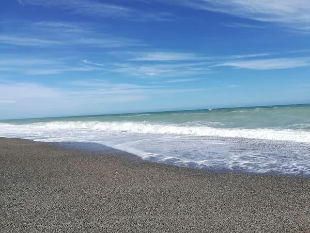 Spiaggia libera Monasterace