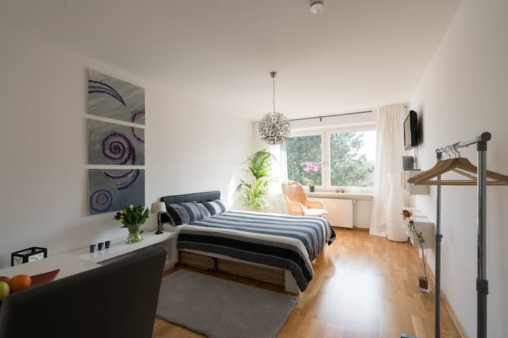 bright, cozy and central appartment