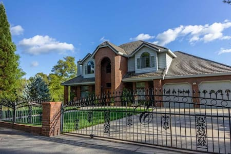 Executive Style Home in Quiet Country Setting