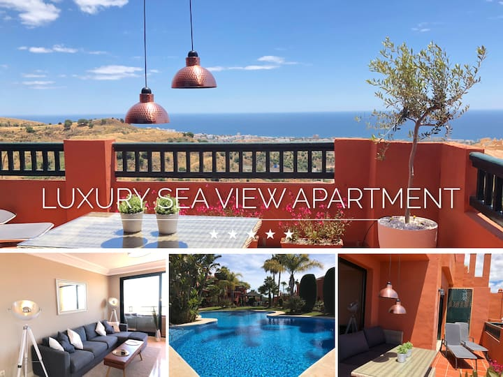 ⭐ LUXURY SEA VIEW APARTMENT | 3 BEDROOMS | WiFi