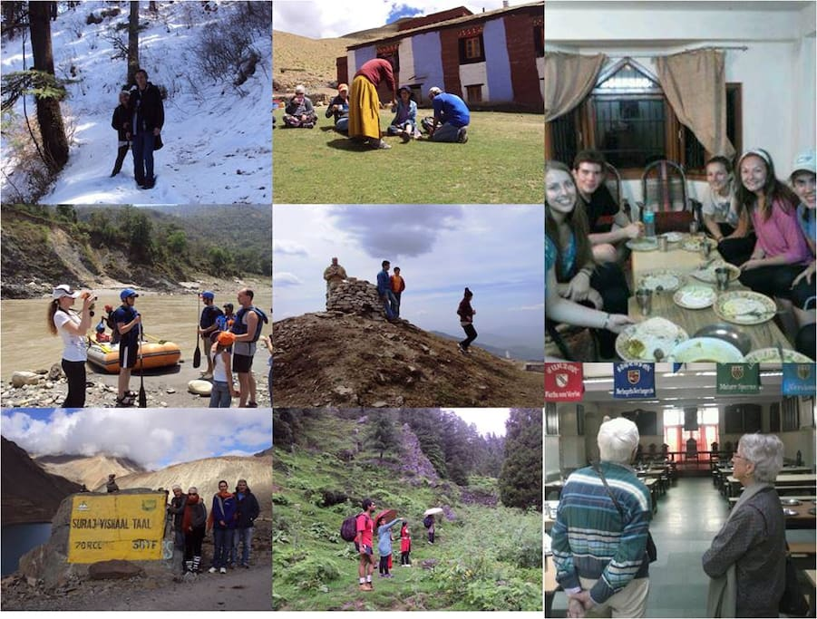 Activities offered at Shali Heights, A Himalayan Home stay.