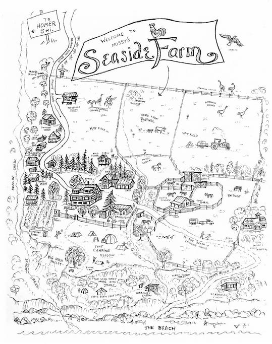 The Map of Seaside Farm