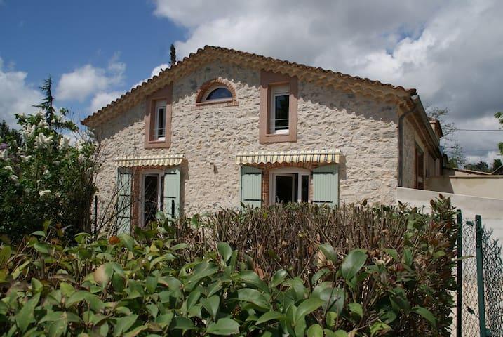 LE GITE VIEUX MÛRIER ( 6 km ANDUZE) - Saint-Jean-de-Serres - Casa