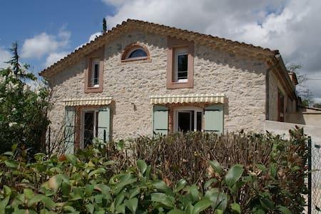 LE GITE VIEUX MÛRIER ( 6 km ANDUZE) - Saint-Jean-de-Serres - Talo