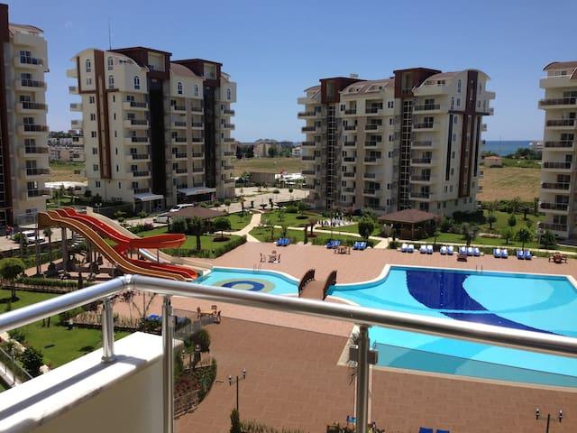 Апартаменты в Турции, Аланья - Avsallar - Apartamento