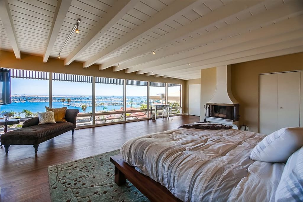 Master Bedroom Wall of View