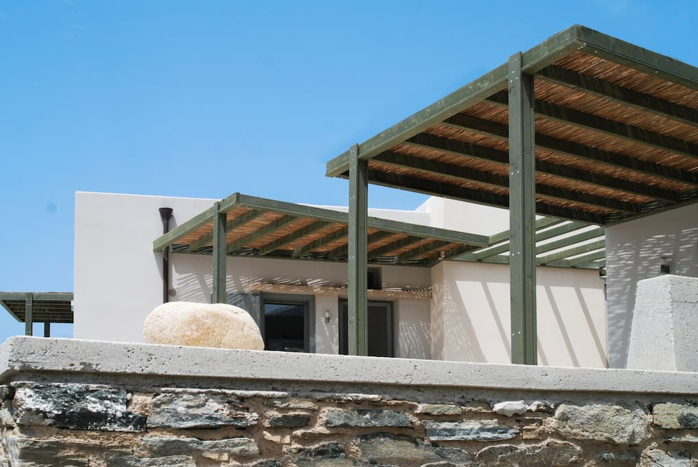 360 view village house krokos cycladic houses greece for House 360 view