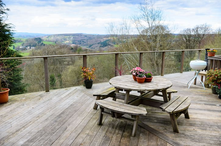 Wye Valley Forest Retreat - Gloucestershire - Haus