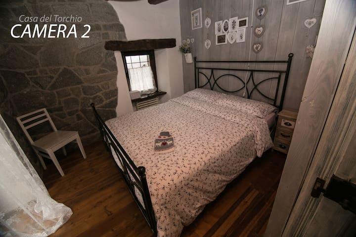 Casa del Torchio - Crodo [Posti: 10 - Camera 2/4]