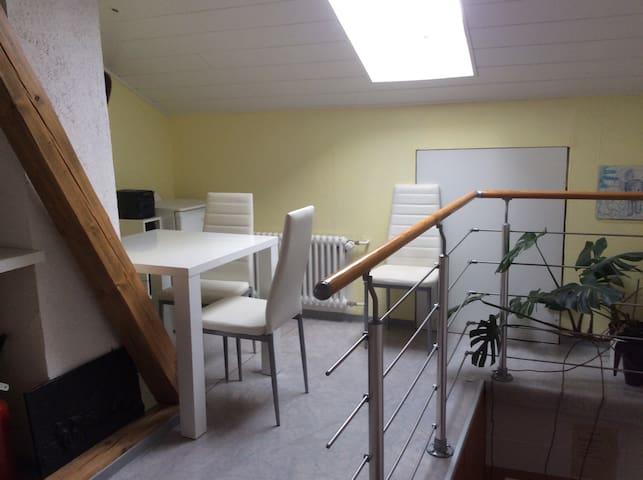 Gemütliche Räume in einem Fachwerkhaus - Stadtallendorf - Casa