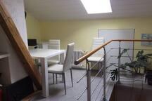 Gemütliche Räume in einem Fachwerkhaus