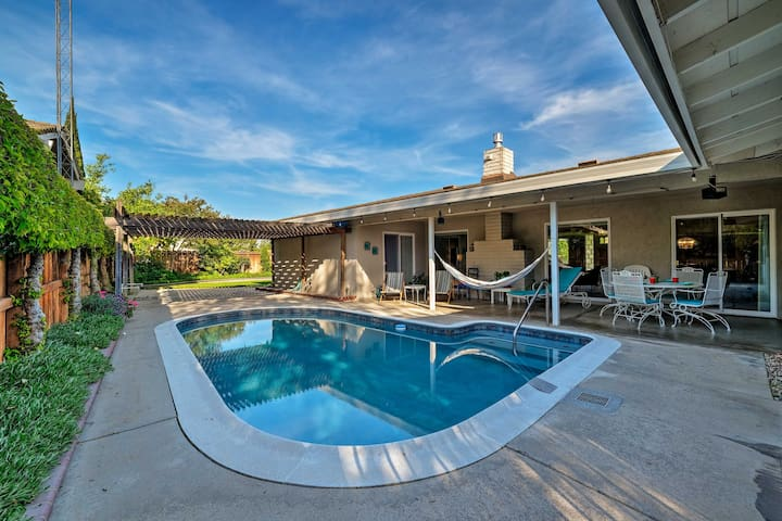 Family-Friendly Ripon Home w/ Private Pool & Patio