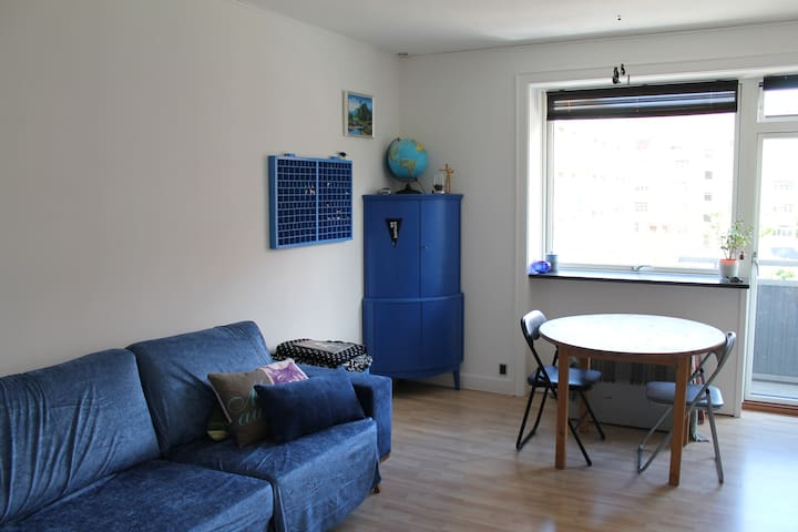 Cosy, affordable flat 20 min from CPH city centre