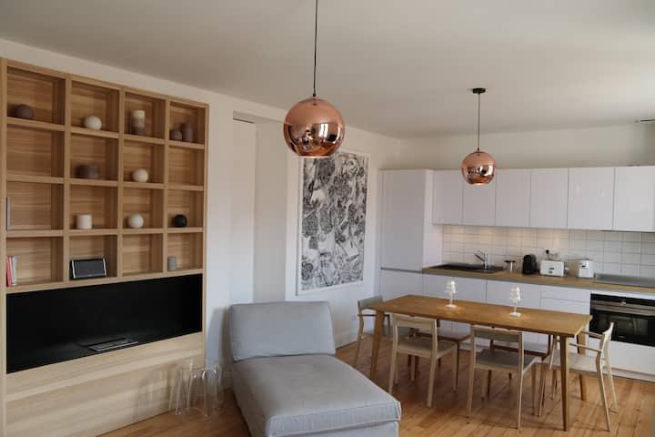 Superb duplex, heart of Biarritz