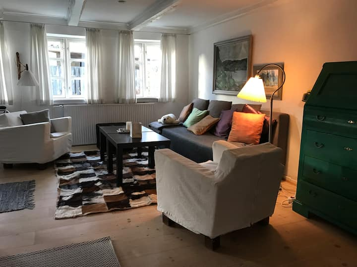 Hyggeligt landsbyhus nær Aarhus udlejes