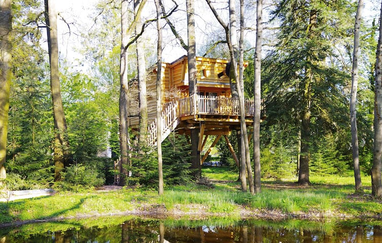 La cabane de Rémi - Bellerive-sur-Allier - Casa de campo
