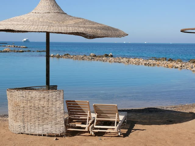 Studio with free private beach - Hurghada - Apartment