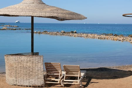 Studio with free private beach - Hurghada - Lejlighed